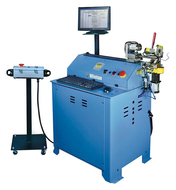 Установка гибки и резки жесткого кабеля Winton RD5 CNC