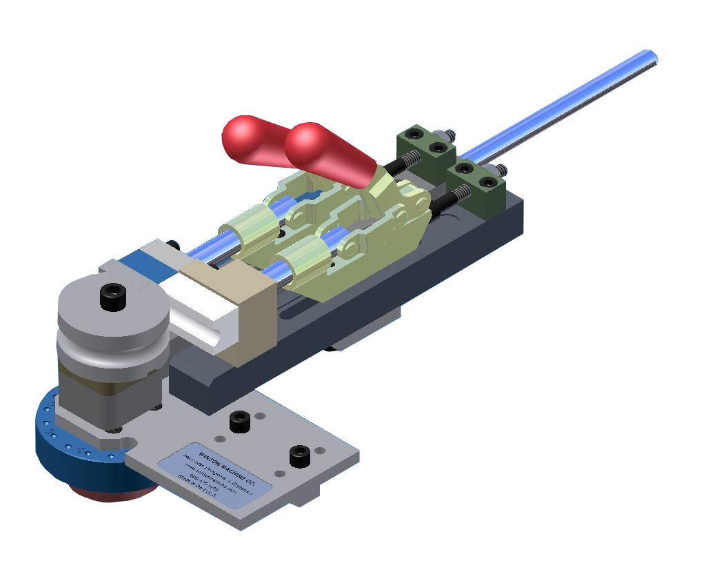 Устройство для гибки жесткого кабеля и медной трубки вручную Winton HB12